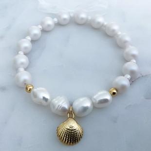 Náramok White pearl