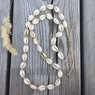 Mušľový náhrdelník long